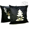 Velvet Christmas Pillowcase LIMITED Renifer F ec
